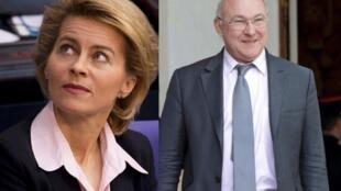 A ministra alemã do Trabalho, Ursula von der Leyen, e o ministro do francês, Michel Sapin, estão por trás da iniciativa.
