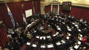 The Argentine senate debates the new law on same-sex marriage.