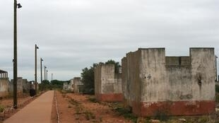 The Rivesaltes camp, where the harkis were held after the end of the Algerian war