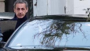 Nicolas Sarkozy esta mañana