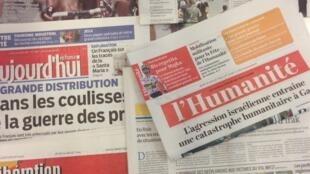 Capas dos jornais. 24/07/14