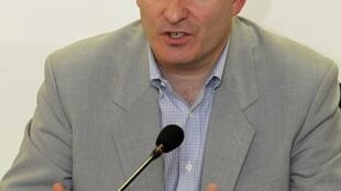 John Ging, directeur des opérations humanitaires de l'ONU en Syrie, à Beyrouth, le 22 janvier 2013.