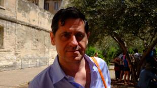 Olivier Py, directeur du Festival d'Avignon.
