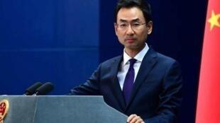 le porte-parole du Ministère des Affaires étrangères Geng Shuang