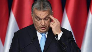 Thủ tướng Hungary Viktor Orban tại Budapest ngày 10/02/2019.