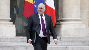 French Finance Minister Michel Sapin (file)