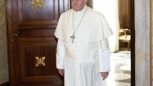 O Papa Francisco anunciou nesta segunda-feira (24) a criação do Ministério da Economia.