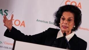 La Nicaraguayenne Bianca Jagger est militante pour les droits humains. Pour elle, le président Daniel Ortega trahi l'esprit de la révolution sandiniste