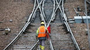 Railtracks at Charenton-le-Pont, near Paris