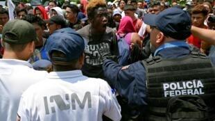 Mêhicô điều lính ra biên giới ngăn chận làn sóng di dân tràn vào Mỹ. Ảnh ngày 05/06/2019.
