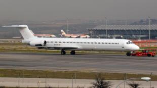 阿爾及利亞墜毀航班攝於2013年的照片