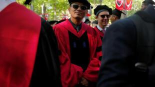 王家衛在哈佛大學