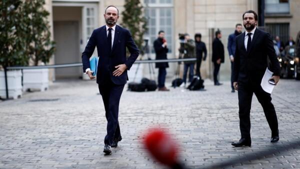 Thủ tướng Edouard Philippe tiếp tục các cuộc thương lượng với đại diện công đoàn về chế độ hưu bổng.