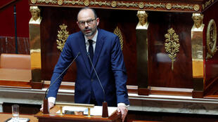 French Prime Minister Edouard Philippe delivers a speech on the government general policies plans at the National Assembly in Paris, France, July 4, 2017.