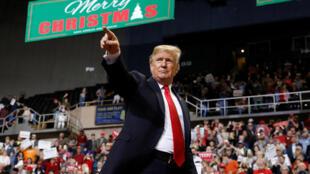 Donald Trump lors d'un meeting dans le Mississipi, le 26 novembre 2018.