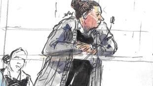 Inès Madani, la co-accusée d'Ornella Gilligmann qui s'est fait passer pour un homme.