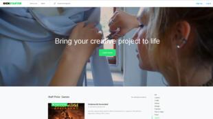Kickstarter est l'un des leaders mondiaux des sites de crowdfunding.
