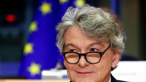 歐盟執委法國人布勒東(Thierry Breton ) 14 novembre 2019.