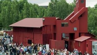 """""""Domestikator"""" foi exposta durante três anos em um parque de Bochum, na Alemanha."""