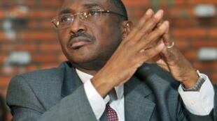 Sidya Touré, président de l'Union des forces républicaines (ici à Abidjan, en 2009).
