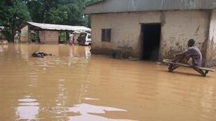 Bangui sous les eaux (archives).