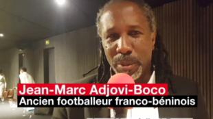 Jean-Marc Adjovi-Boco, membre du Conseil Présidentiel pour l'Afrique et ancien capitaine de l'équipe nationale de football béninoise.