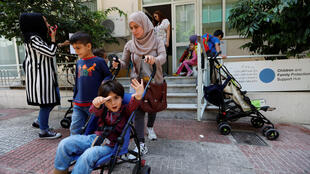 Réfugiés syriens en Grèce. (Photo d'illustration)
