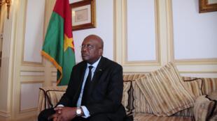 Le président du Burkina Faso Roch Marc Christian Kaboré, le 7 avril 2016 à Paris.