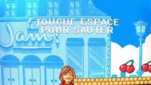 Nathalie Loiseau, tête de liste LaREM aux élections européennes, est l'héroïne du jeu Super Jam Bros.