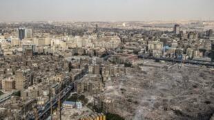 Vue générale du Caire, la capitale de l'Egypte (image d'illustration).