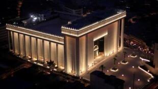 O Templo de Salomão, construído pela Igreja Universal do Reino de Deus.