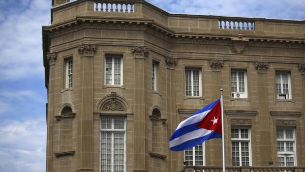 L'ambassade cubaine à Washington, aux Etats-Unis.