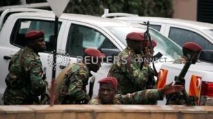 肯尼亞首都內羅畢市區一商業中心遭爆炸襲擊。2019-01-15