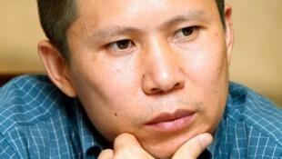 中国公民运动倡导者许志永资料图片