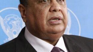 Sudan's Foreign Affairs Minister Ibrahim Ghandour