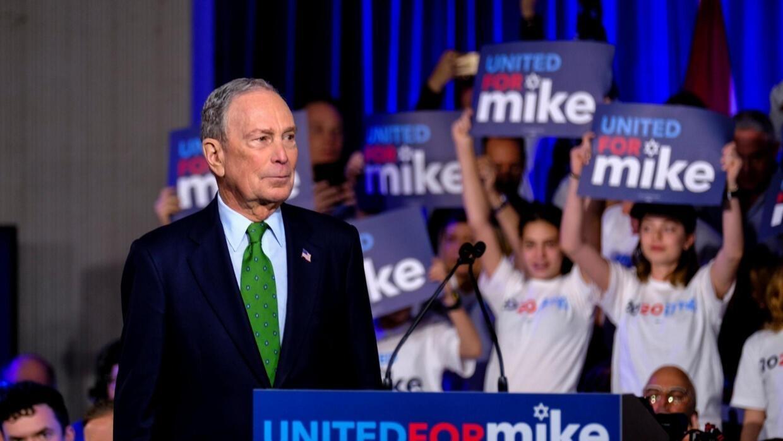 À la Une: Michael Bloomberg, le candidat démocrate qui monte