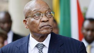 Jacob Zuma a donné son feu vert à une enquête portant sur le fonctionnement des services fiscaux (photo d'archives).