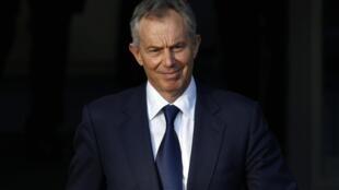 Former British Prime Minister turned peace envoy Tony Blair