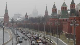 Imagem do Kremlin, no centro de Moscovo, capital da Rússia ( imagem de ilustração )
