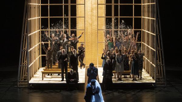 La représentation de «L'Enlèvement au sérail» de Mozart au Grand Théâtre de Genève.