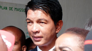 Andry Rajoelina was president between 2009 and 2014.