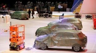 Отмену 90-го Женевского автосалона уже подтвердили организаторы. На фото: женевский павильон 28.02.2020.