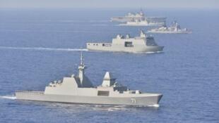 Tàu chiến của Ấn Độ, Nhật Bản, Philippines và Singapore đang trên đường tới Haiwaii, để tham gia cuộc tập trận RIMPAC 2018