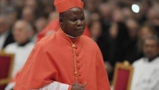 L'archevêque de Bangui Dieudonné Nzapalainga.