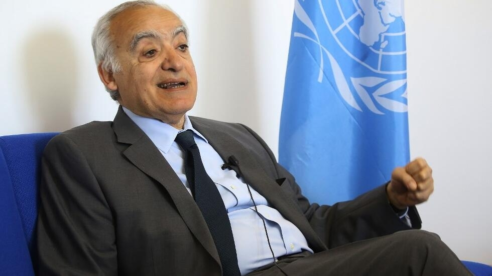 L'envoyé spécial de l'ONU en Libye Ghassan Salamé. le 18 avril 2019.