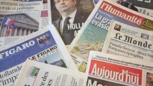 O escândalo no alto escalão do governo Hollande ocupa as manchetes desde o início do mês.