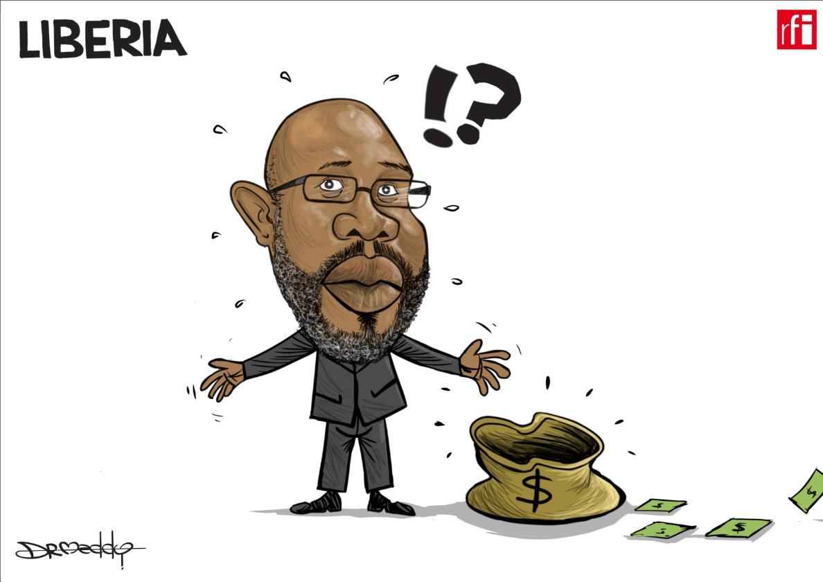 Shugaban Liberia George Weah na fuskantar kalubala saboda matsalar tattalin arziki (27/09/2018).