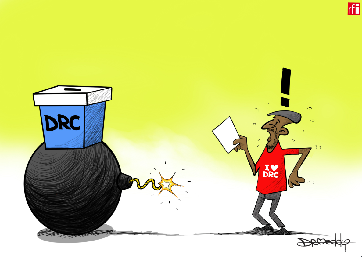 An dage Zaben Jamhuriyar Demokradiyar Congo