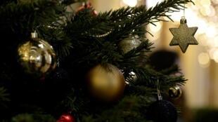 Decorações de Natal.