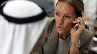 This file photo taken on November 13, 2007 shows French journalist Veronique Robert in Dubai. French journalist Veronique Robert, wounded in the same mine blast that killed two colleagues in the Iraqi city of Mosul earlier this week, has died